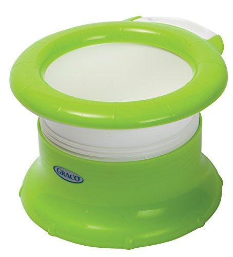 made to be used with disposable bags this portable potty chair for toddlers is lightweight and easy to clean it includes 10 graco disposable bags